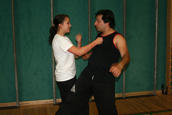 Training Wing Tsun